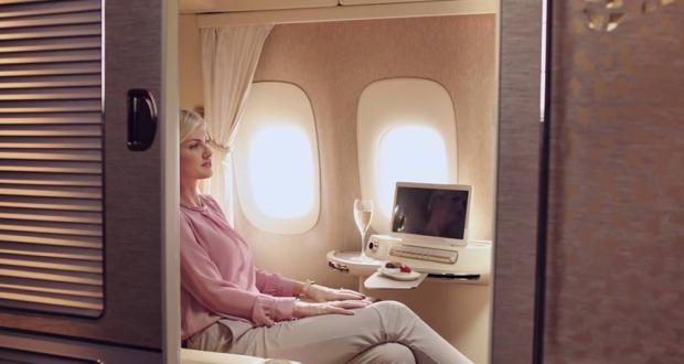 Перелет в каютах первого класса Emirates обойдется в 300 тысяч рублей